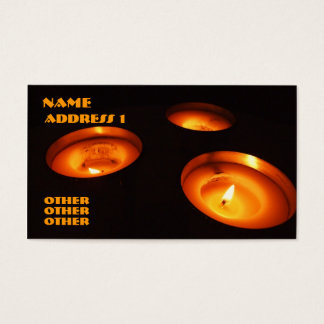 Candles Business Card