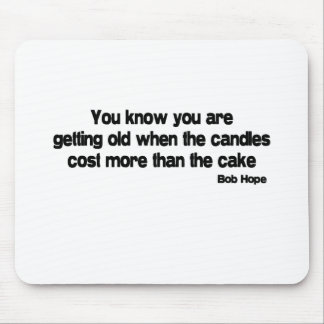 Candles Cost More quote Mouse Mats
