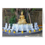 Candles for Buddha Greeting Card