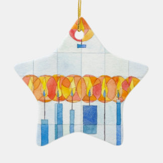 Candles Ornament