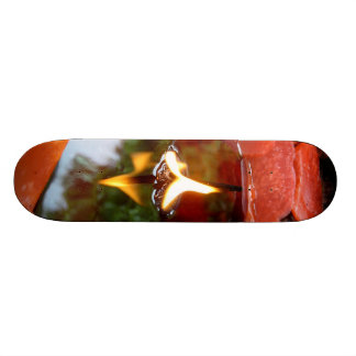 Candlescape Reflections skateboard
