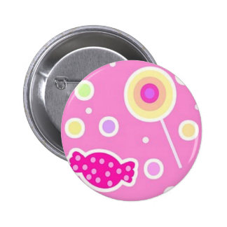 Candy! 6 Cm Round Badge