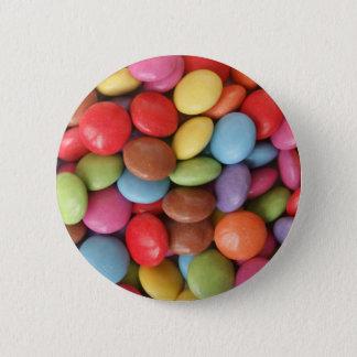 candy 6 cm round badge