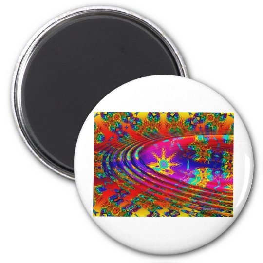 Candy 6 Cm Round Magnet