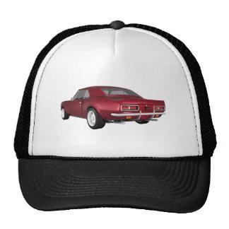 Candy Apple Camaro SS: 3D Model: Cap