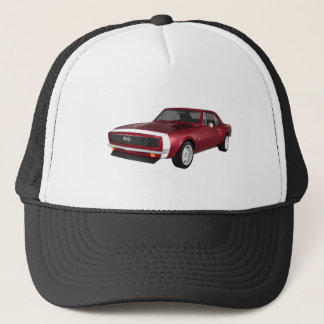 Candy Apple Camaro SS: 3D Model: Trucker Hat