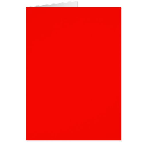 Candy Apple Red Cards