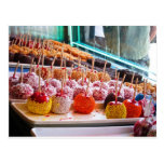 Candy Apples - Coney Island, NYC Post Card