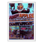 Candy Apples Greeting Cards