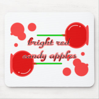 candy apples mouse pads