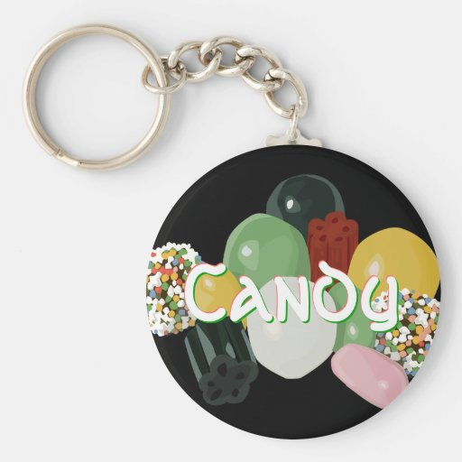 Candy Assortment Keychain