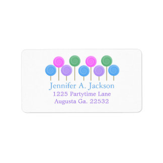 Candy Avery Address Labels