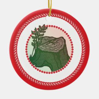 Candy-back Jesse tree Ornament