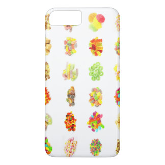 Candy Background and Assorted Types on White Art iPhone 7 Plus Case