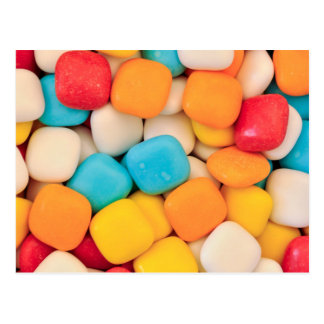 candy background postcard