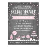 Candy Bar | Bridal Shower 13 Cm X 18 Cm Invitation Card