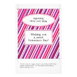Candy Bar Wrapper | Valentine's Day 14 Cm X 21.5 Cm Flyer