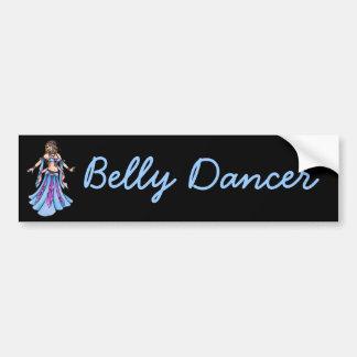 Candy Belly Dancer Sticker Bumper Sticker