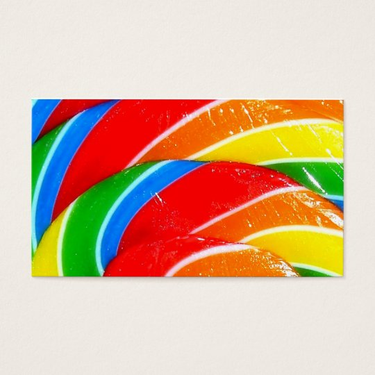CANDY BOX BUSINESS CARD