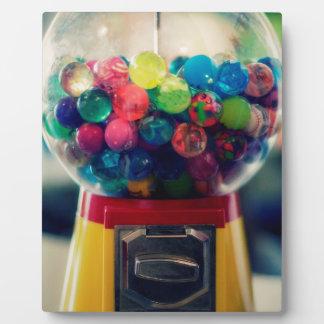 Candy bubblegum toy machine retro photo plaques