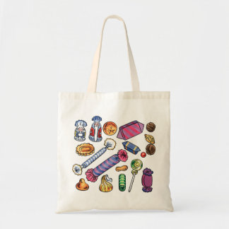 Candy Budget Tote Bag