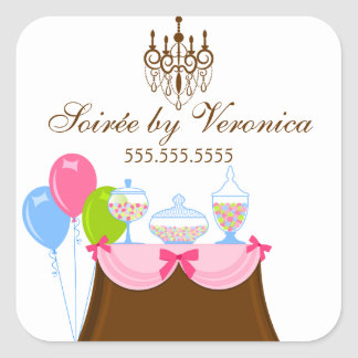 Candy Buffet and Dessert Tables Stickers