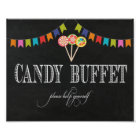 Candy Buffet Table Sign - 8x10- Candy Bar Sign