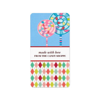 Candy Business Product Labels
