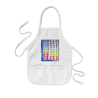 """""""Candy Buttons"""" Kids' Apron"""