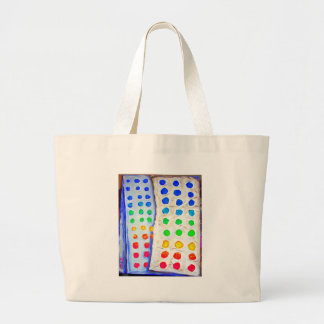 """Candy Buttons"" Canvas Bags"