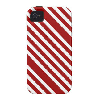CANDY CANE ~ (A Christmas stripe design) ~ Vibe iPhone 4 Covers