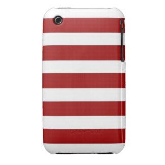 CANDY CANE ~ (a Christmas stripe design) ~ iPhone3 Case
