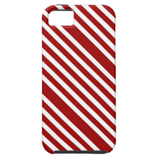 CANDY CANE ~ (A Christmas stripe design) ~ Cover For iPhone 5/5S