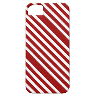 CANDY CANE ~ (A Christmas stripe design) ~ iPhone 5 Cover