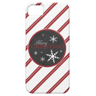 Candy Cane and Chalkboard Christmas iPhone 5 Cases