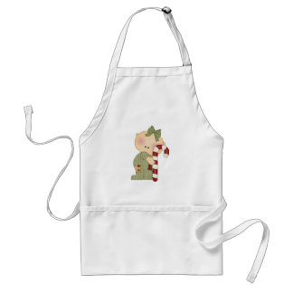 candy cane baby girl 1 aprons