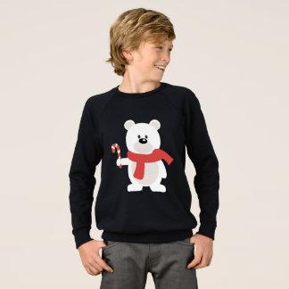 Candy Cane Bear Sweatshirt
