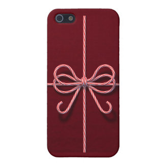 Candy Cane Bow iPhone 5C Case
