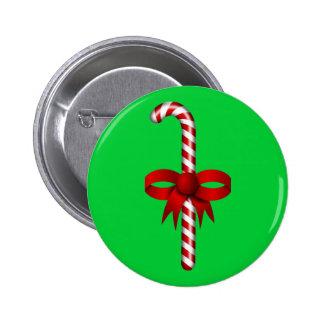 """Candy Cane"" Button"