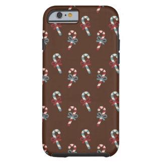 Candy Cane Christmas Tough iPhone 6 Case