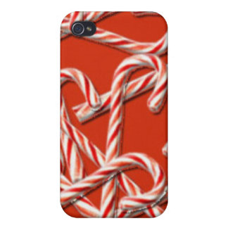 Candy Cane Christmas iPhone 4/4S Case