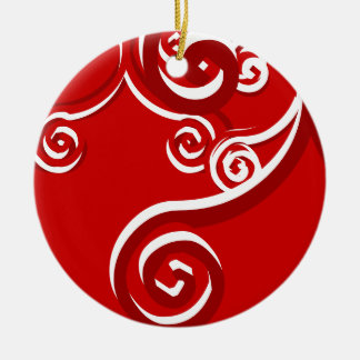 Candy Cane Christmas Ornament Design