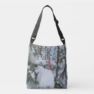 Candy Cane Decoration Tote Bag