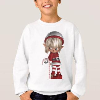 Candy Cane Elf Sweatshirt