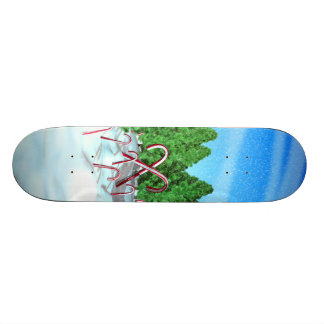 Candy Cane Forest Skate Decks