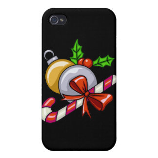 Candy Cane Fun iPhone 4 Cover