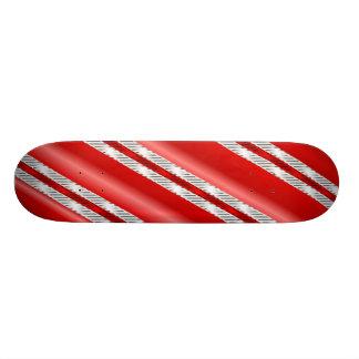 Candy Cane Fusion (Skateboard Deck) 18.1 Cm Old School Skateboard Deck