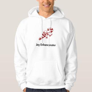 Candy Cane Joy Enhancenator Hooded Sweatshirts