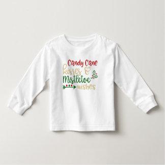 Candy Cane Kisses Christmas Shirt