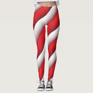 Candy Cane Leggings